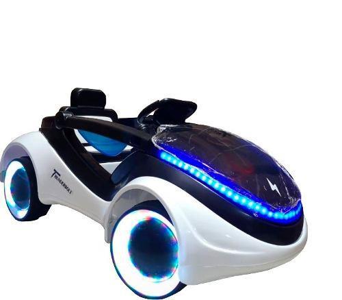 Carro A Batería Futurista Pre Venta Luces, Música Y Usb
