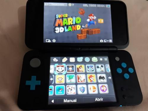 New Nintendo 2ds Xl Nueva + Juegos