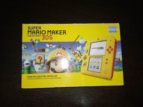 Nintendo 2ds Super Mario Maker Edicion Limitada