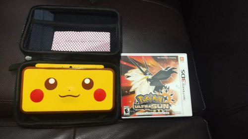 Nintendo 2ds Xl Edicion Pikachu