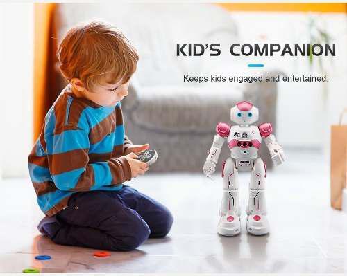 Robot Inteligente Control Remoto Voz Danza Articulado. Rosa