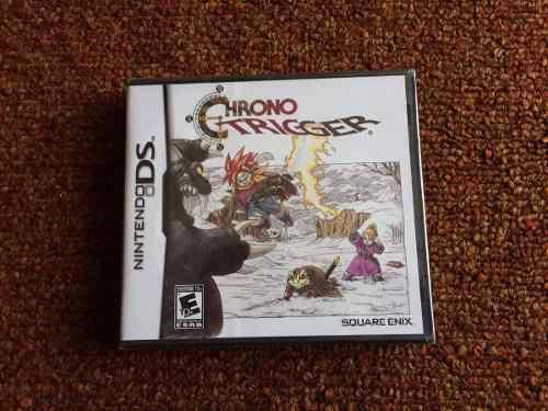 Chrono Trigger - Nintendo Ds - Nuevo Y Sellado