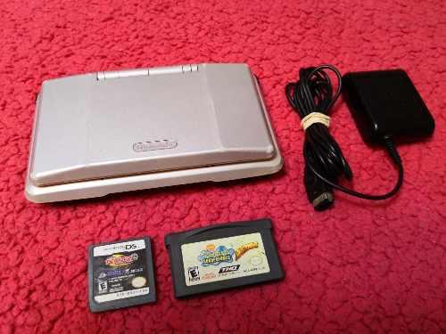 Nintendo Ds Consola Clasica Color Silver 100% Operativo