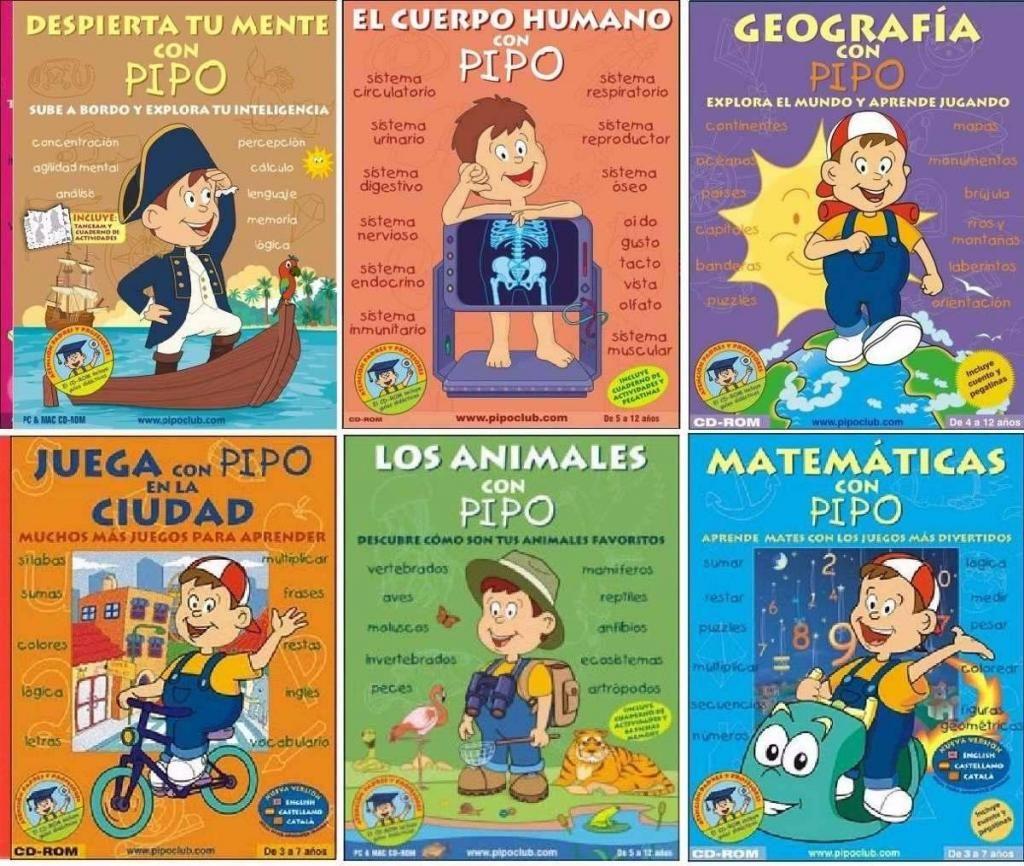 Divertidos y Lúdicos Juegos Para Niños Juega Y Aprende Con