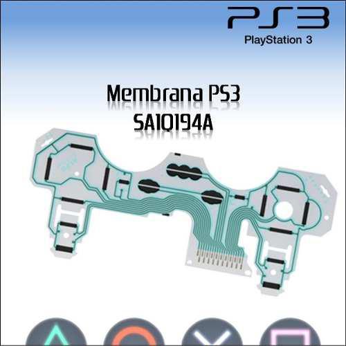 Membrana Flexible Para Mando Ps3