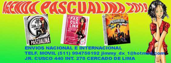 Oferta !! agenda pascualina 2019 original por mayor y menor