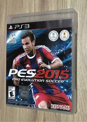 Playstation 3 Pes 2015 Pro Evolution Soccer Nuevo Y Sellado!