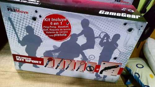 Vendo Ps Move Kit Deportivo 6 En 1 Para Playstation 3