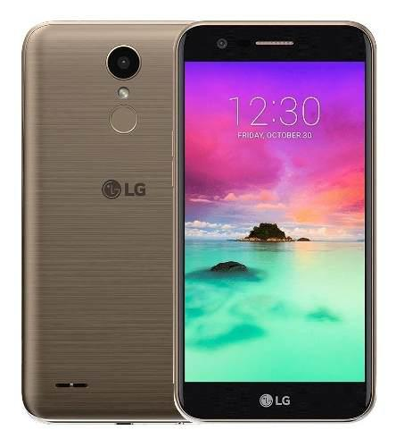 Celular Lg K10 2017 Ds Lte Gold Black Garantía Itelsistem