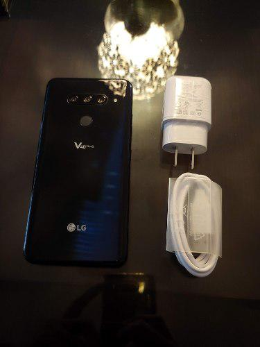 Lg V40 Thinq Nuevo 6gb 5 Camaras Quad Dac No S10 P30 S9 Note