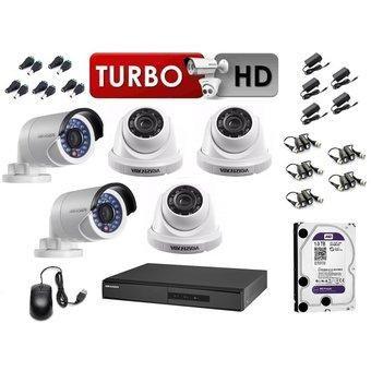 OFERTA Cámaras Seguridad HIKVISION Kit De 04 cámaras p