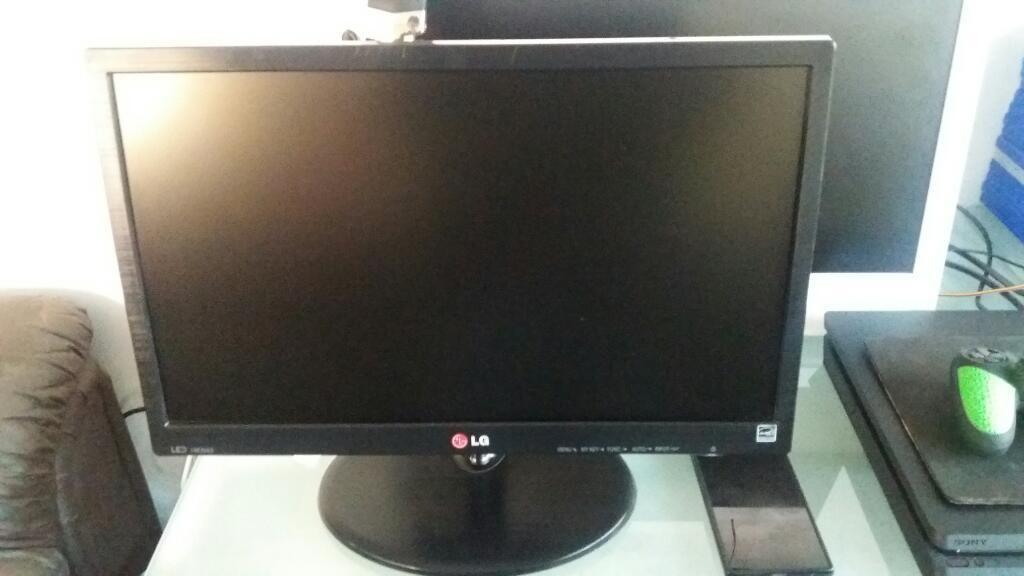 Vendo Monitor Led Lg de 19 para Cpu