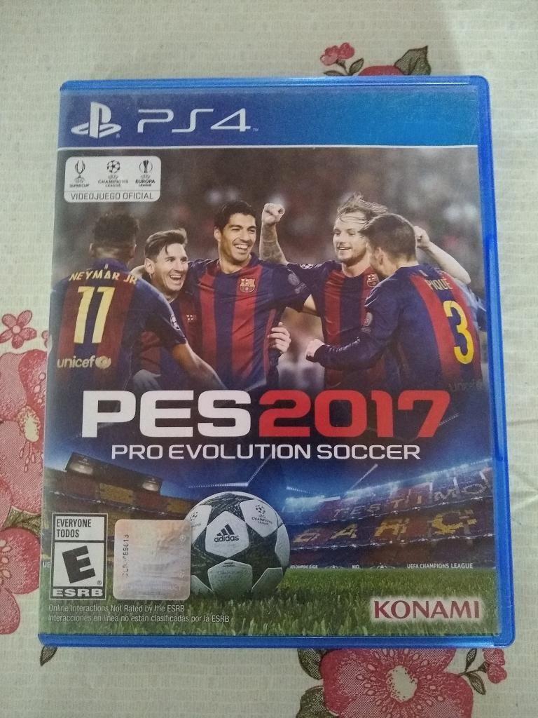 (Vendo o Cambio) Pro Evolution Soccer  PS4