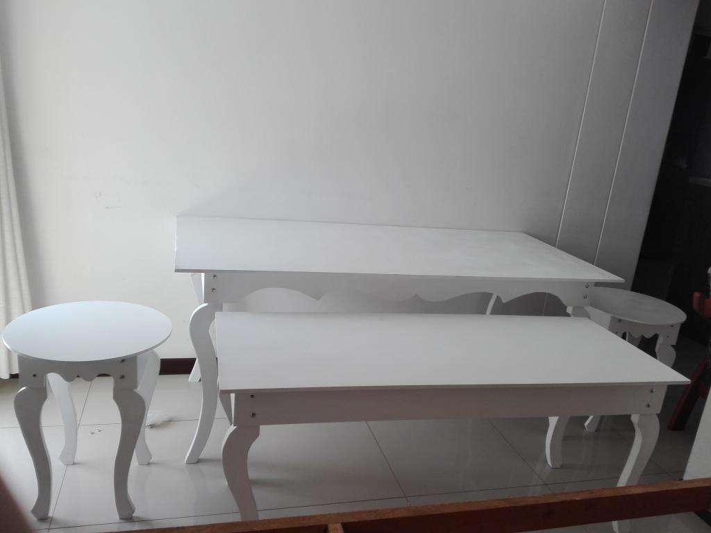 Alquiler de mesas y accesorios fiestas infantiles