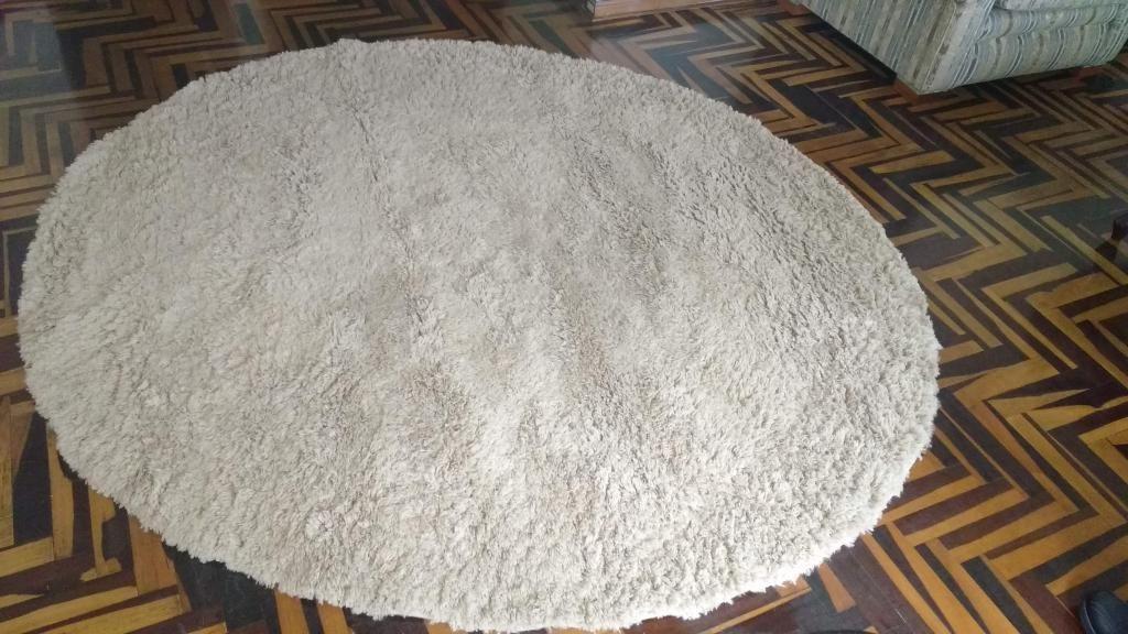 REMATE alfombra shaggy como nueva