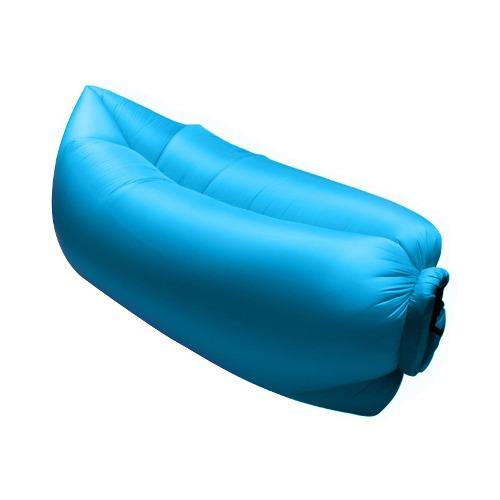 Sofa Inflable Portatil Intense Device, Azul.