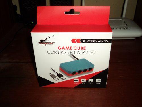 Adaptador De Mandos De Game Cube Para Nintendo Switch - Wiiu