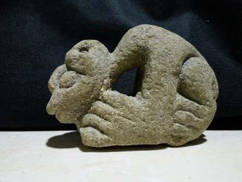 Antigua Escultura De Piedra Masiza Para Conocedores S/.600