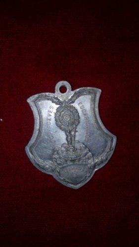 Antigua Medalla De Plata Año 1907