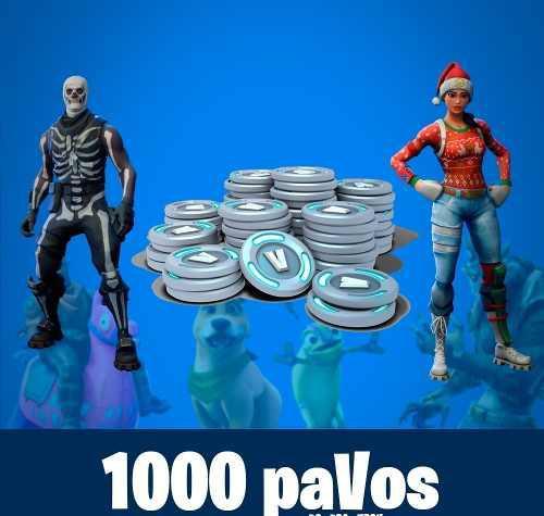 Fortnite 1000 Pavos - Solo Pais Peru