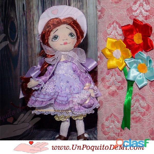 Muñecas de Tela Hechas a Mano UnPoquitoDeMi.com Cusco Perú