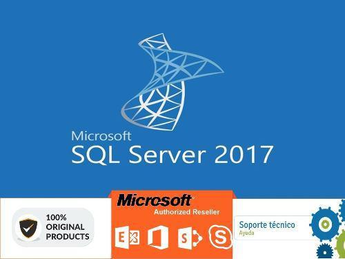 Sql Server 2017 Licencia Original 1pc