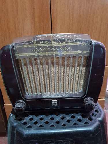Yh Antigua Radio Philips Baquelita Usada Cambio Remato