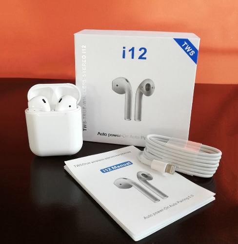 Audífonos AirPods I12 Y I13 Tws Bluetooth 5.0 Original A1