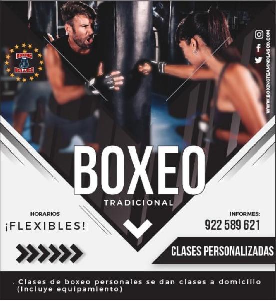 Clases de Boxeo Personalizado