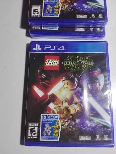 Lego Star Wars Ps4 Nuevo Sellado Delivery