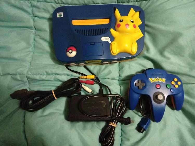 Nintendo 64 Pikachu Edition Americano