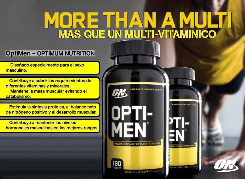 OPTIMEN MULTI-VITAMINICO 240 tab ON optimun nutrition
