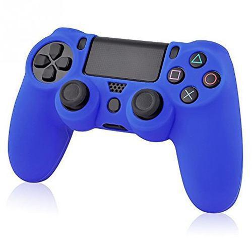 Ps4 - Funda De Silicona - Blue