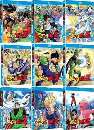 Saga Dragon Ball Z En Hd Digital Mp4