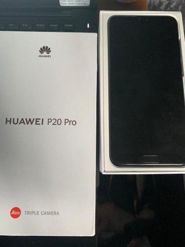 Huawei P20 Pro / 6gb + 128gb / 40+20+8mp / Twilight Nuevo!