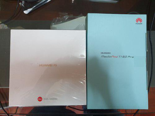 Huawei P9 Leica + Tablet Huawei T1 8.0 Pro - Oferta