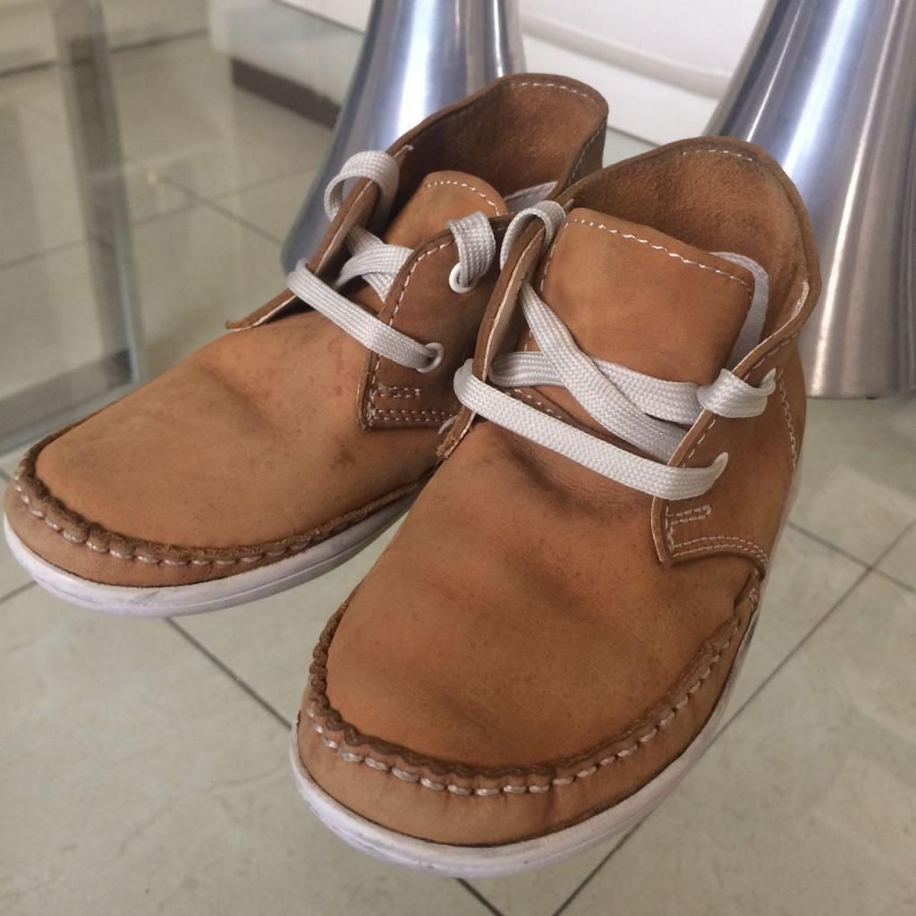 Zapatos Niño Modelo Sport Elegante Gamuza