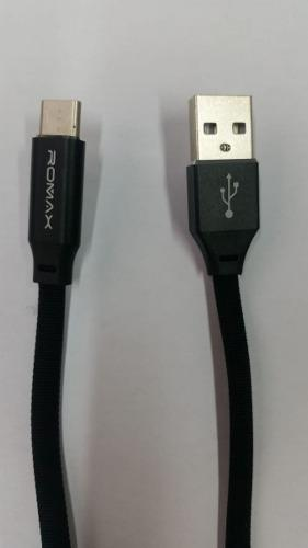 Cable Usb Tipo C Romax Cd195c Celulares Carga Rápida Datos