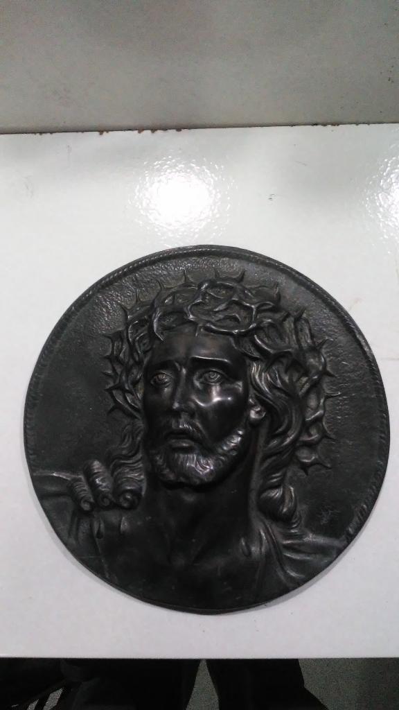 Cristo en Metal Muy Antiguo Buen Estado