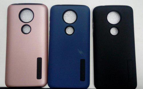 Case Protector Tipo Incipio Para Motorola Moto E5 Plus
