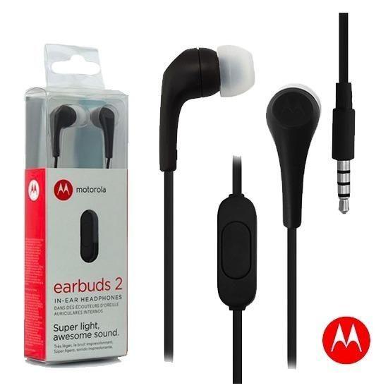 Audifonos Motorola Earbuds 2 con micrófono Original