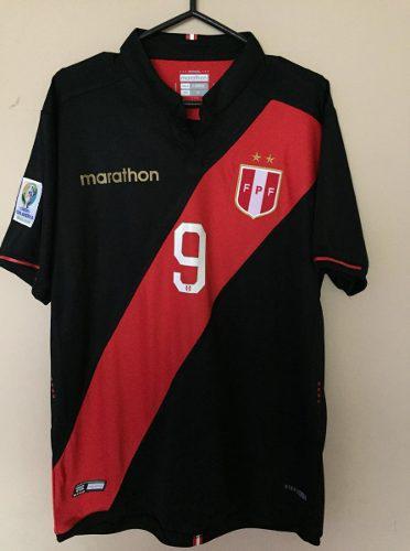 Camiseta De Perú Copa America Alterna Negra
