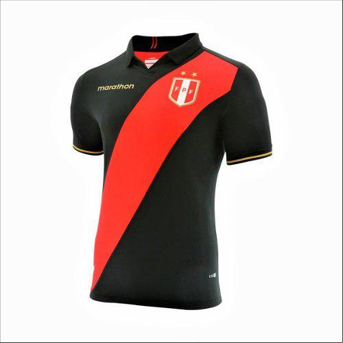 Camiseta Negra De Perú Copa America - Calidad A1