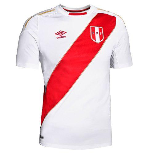 Camiseta Oficial De La Selección Peruana, Umbro (rusia