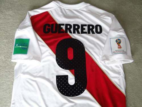 Camiseta Original Umbro Selección Peru Mundial Rusia 2018