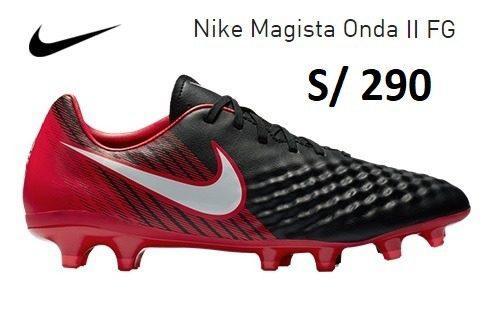 Chimpunes Nike Magista Onda 2 Grass Natural Nuevos A Pedido