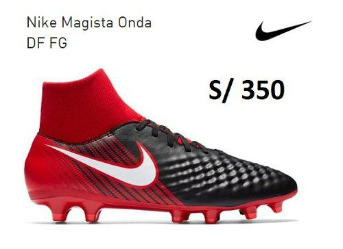 Chimpunes Nike Magista Onda Df Fg Grass Natural Nuevos Origi