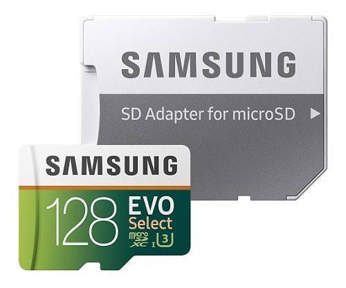 Samsung Micro Sd 128gb Evo Select 100 Mb/s 4k Envio Gratis