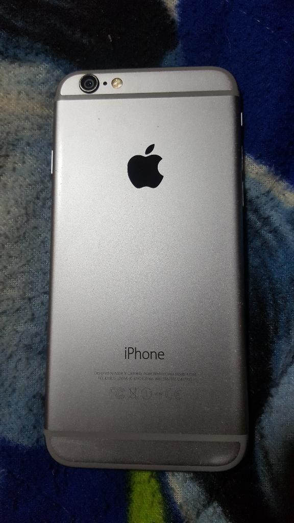 Vendo iPhone 6 32gb Libre Icloud