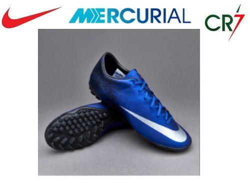 Zapatillas Nike Mercurial Victory Cr7 Talla 41 Turf Nuevas
